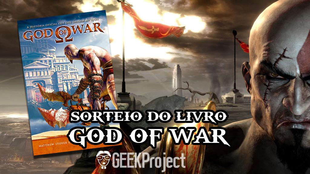 SORTEIO LIVRO GOD OF WAR