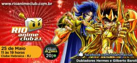 Rio Anime Club | Nova edição do evento acontece no dia 25 de maio #RACmaio