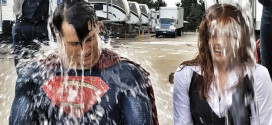 Superman e Lois Lane também entraram no Desafio do Balde de Gelo