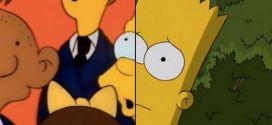 """Os personagens de """"Os Simpsons"""" no primeiro episódio e atualmente"""