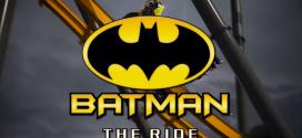 Essa fantástica montanha russa do Batman será lançada em 2015