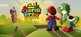 Brasileiros homenageiam o game Super Mario Bros com belas imagens