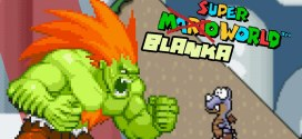 BLANKA vs Super Mario World