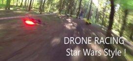 Uma corrida de drones no estilo Star Wars que você adoraria participar