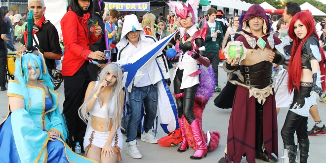 Anime Friends 2015 - Cosplays